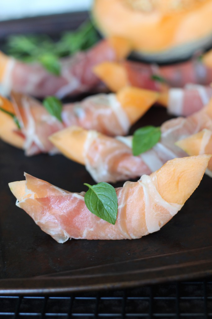 PaleOMG Prosciutto Mint Wrapped Melon