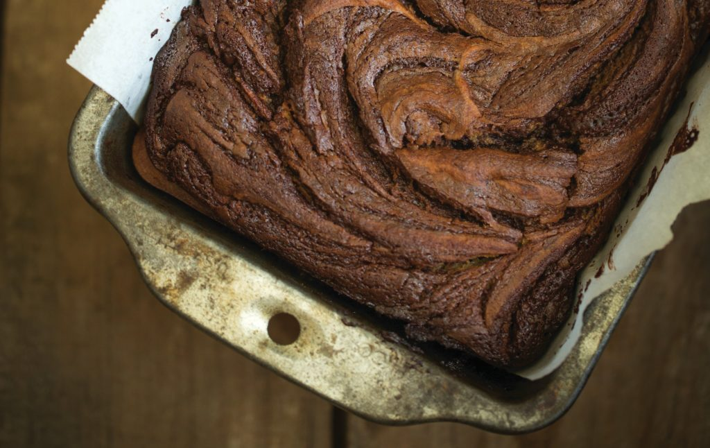 PaleOMG Cinnamon Chocolate Swirl Banana Bread
