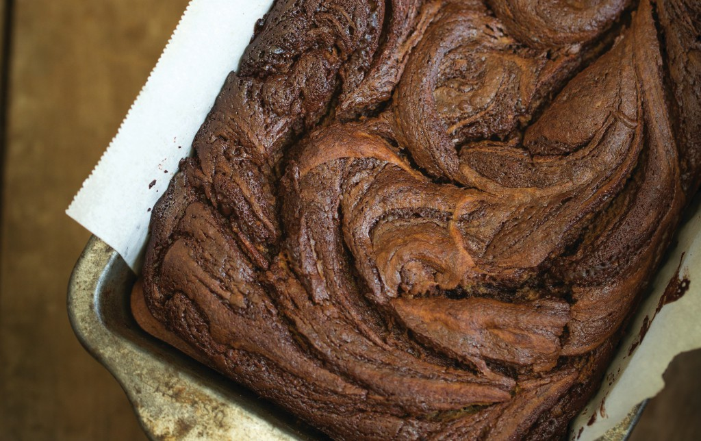 PaleOMG Chocolate Swirl Banana Bread