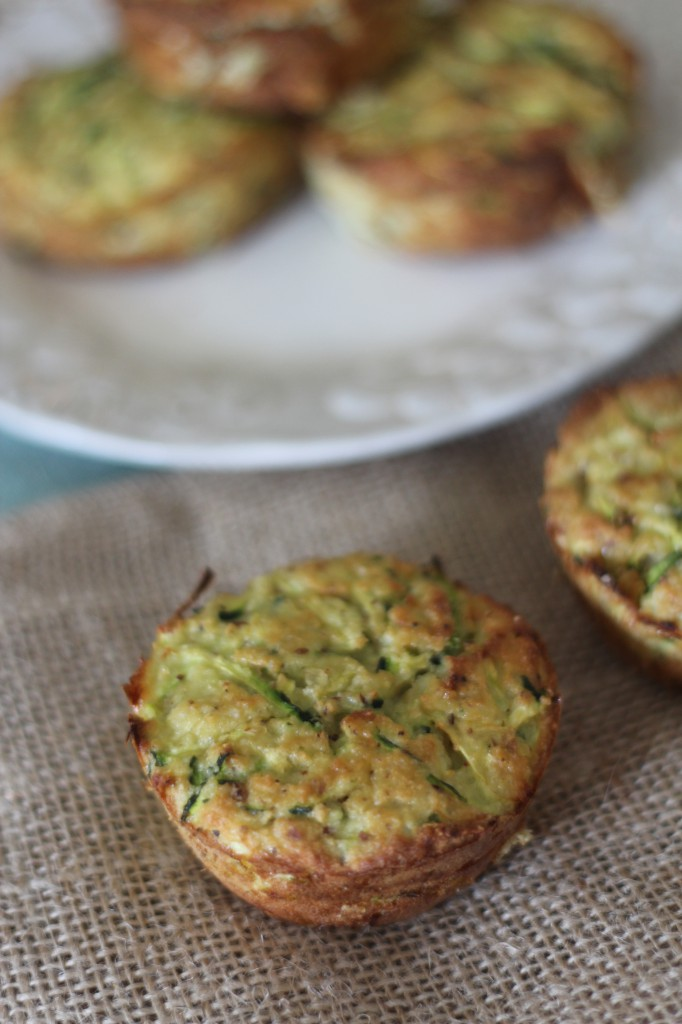 PaleOMG Zucchini Fritter Cups