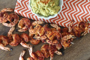 PaleOMG Spicy Grilled Shrimp with Easy Guac