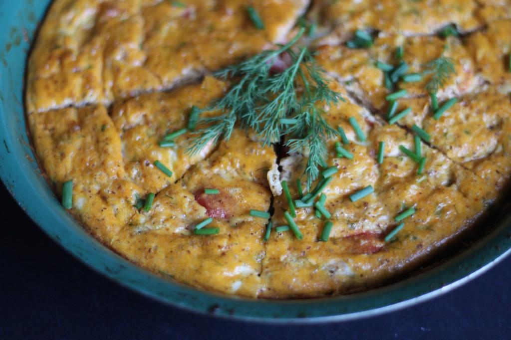 PaleOMG Tomato Dill Frittata