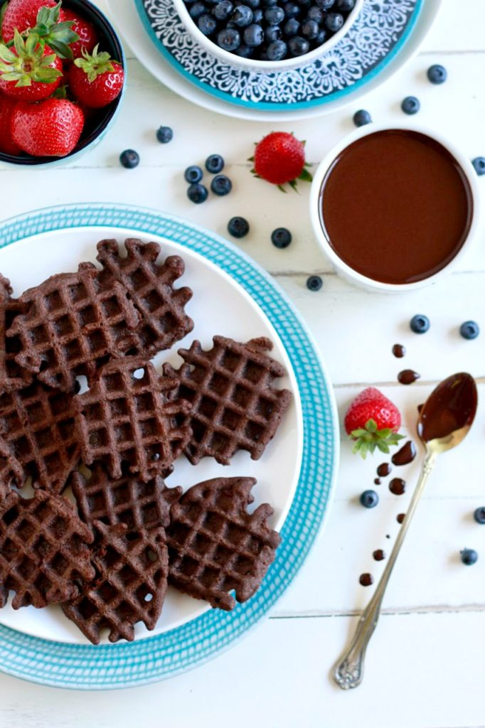 Guest Post: Mini Chocolate Waffles