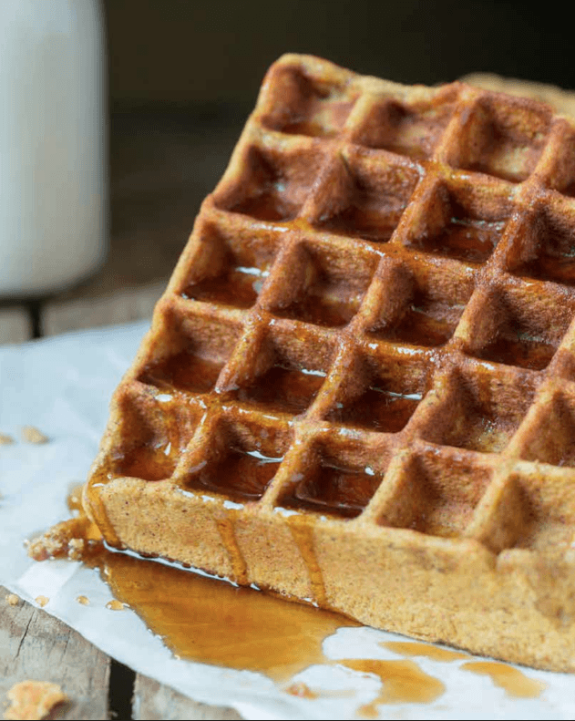 The Paleo Kitchen Pumpkin Waffles