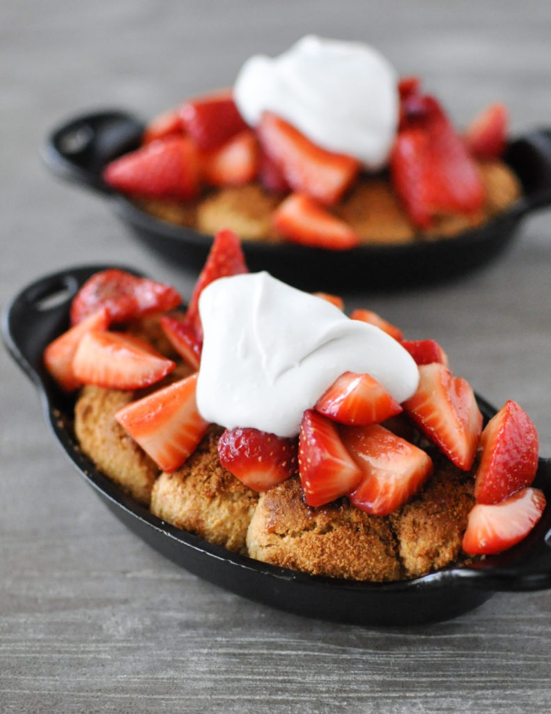 Strawberry Shortcake Skillets | Fed+Fit-6