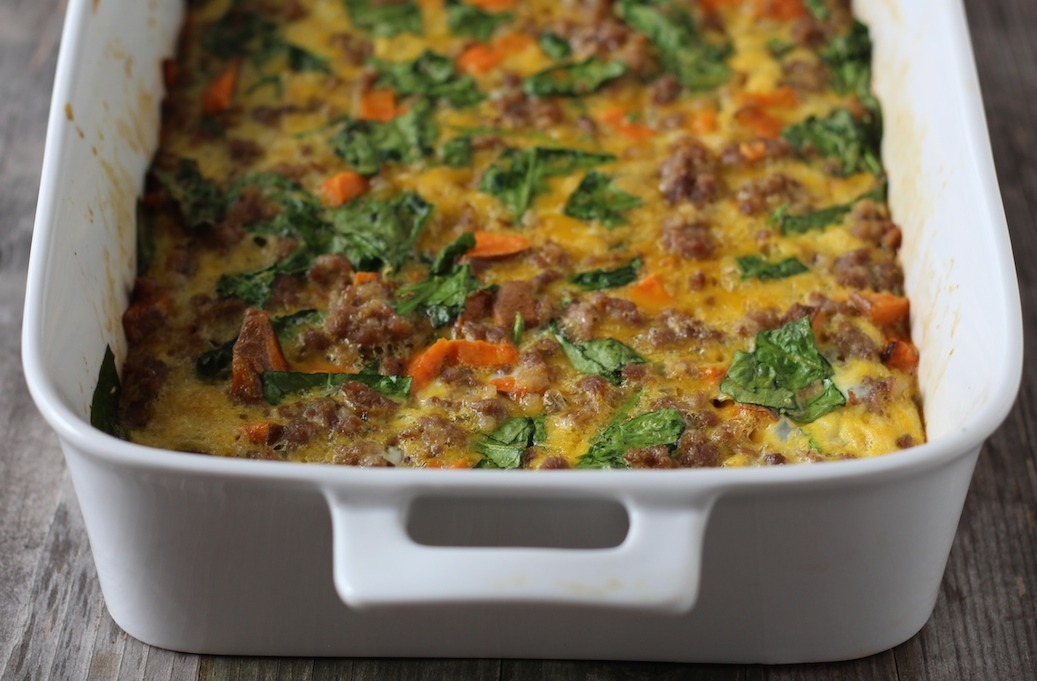 PaleOMG Easy Breakfast Casserole