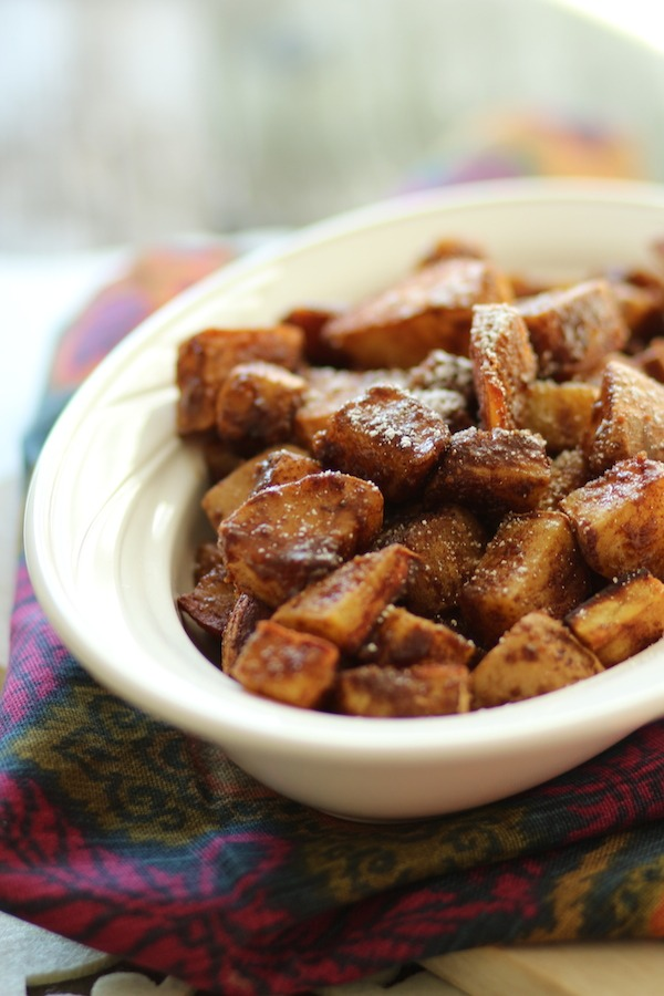 PaleOMG Last Minute Thanksgiving Cinnamon Sugar Sweet Potatoes