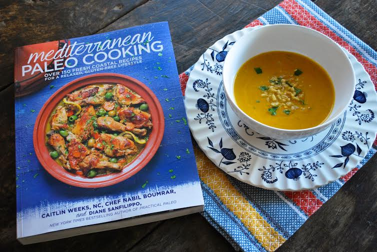 PaleOMG Mediterranean Paleo Cooking Book Review: Cilantro Pumpkin Soup