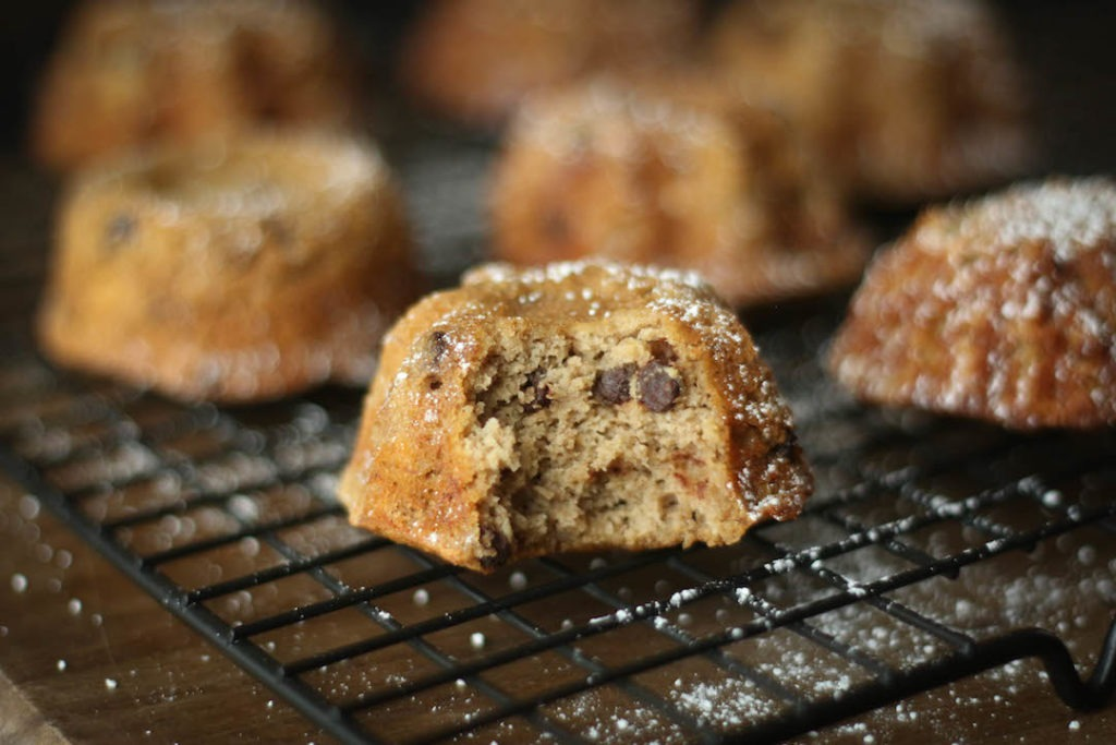 PaleOMG Chocolate Chip Espresso Banana Bread Muffins
