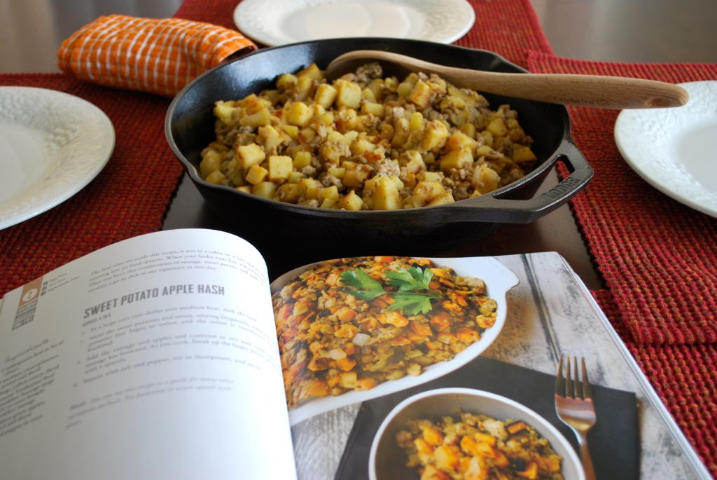 Real Life Paleo Cookbook Review: Sweet Potato Apple Hash