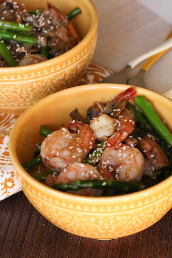 PaleOMG 30 Minute Shrimp Asian Stir Fry