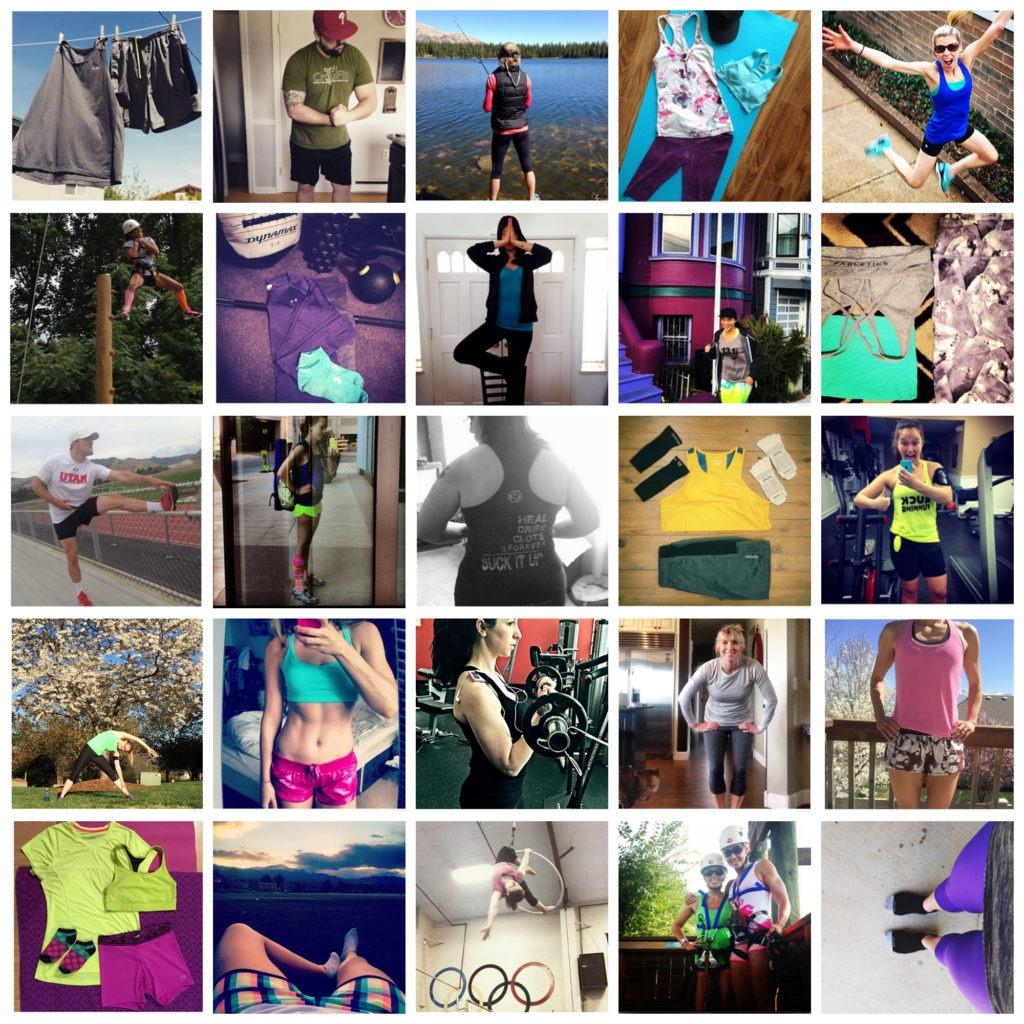 FitFlashRunway Highlight Collage