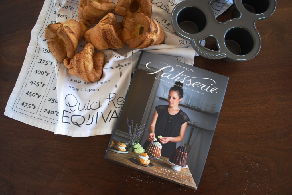 MY PALEO PATISSERIE BOOK REVIEW: POPOVERS