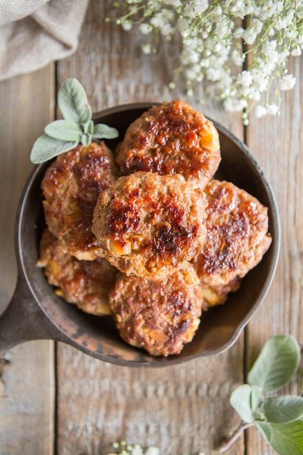 Sneak Peek Recipe from Juli Bauer's Paleo Cookbook: Apple Fennel Breakfast Sausage
