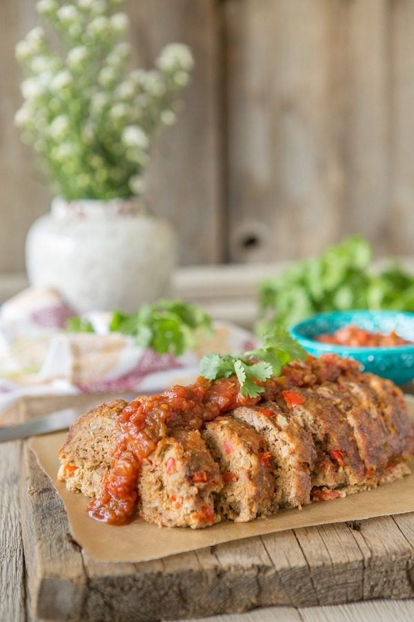 Sneak Peek Recipe from Juli Bauer's Paleo Cookbook: Mexican Meatloaf