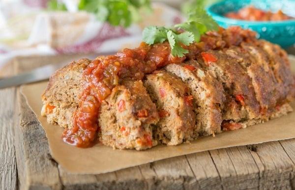PaleOMG Mexican Meatloaf