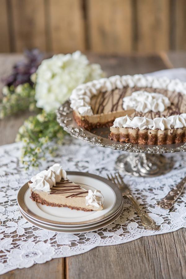 "PaleOMG Juli Bauer's Paleo Cookbook ""Peanut"" Butter Cream Pie"