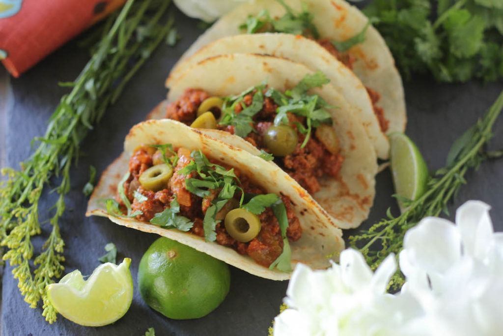 PaleOMG Picadillo Tacos