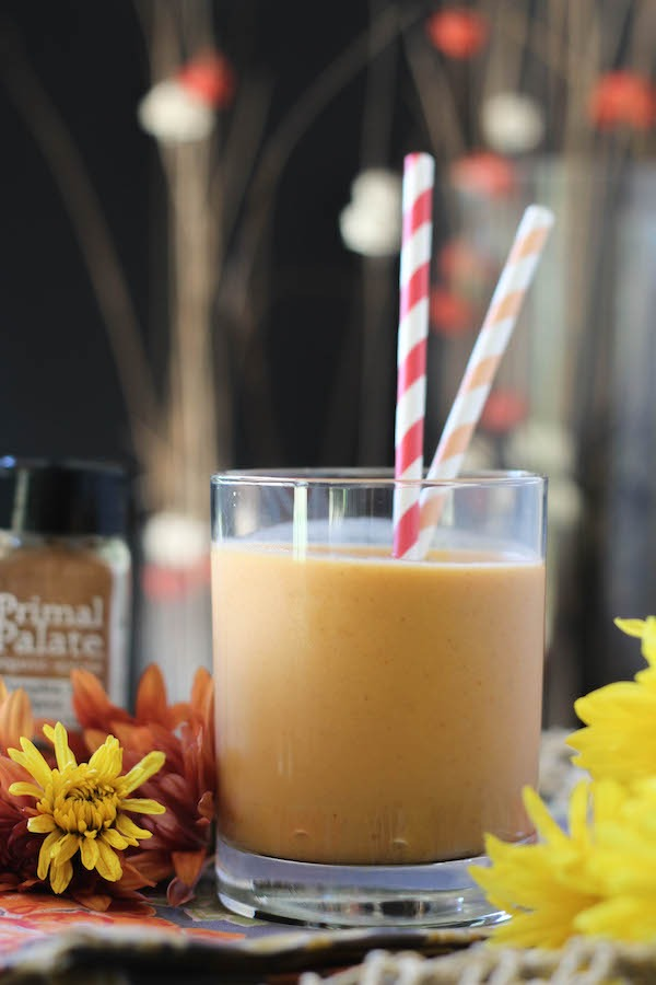 PaleOMG Pumpkin Pie Protein Smoothie