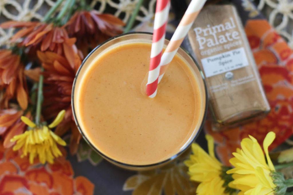 PaleOMG Pumpkin Pie Protein Smoothie