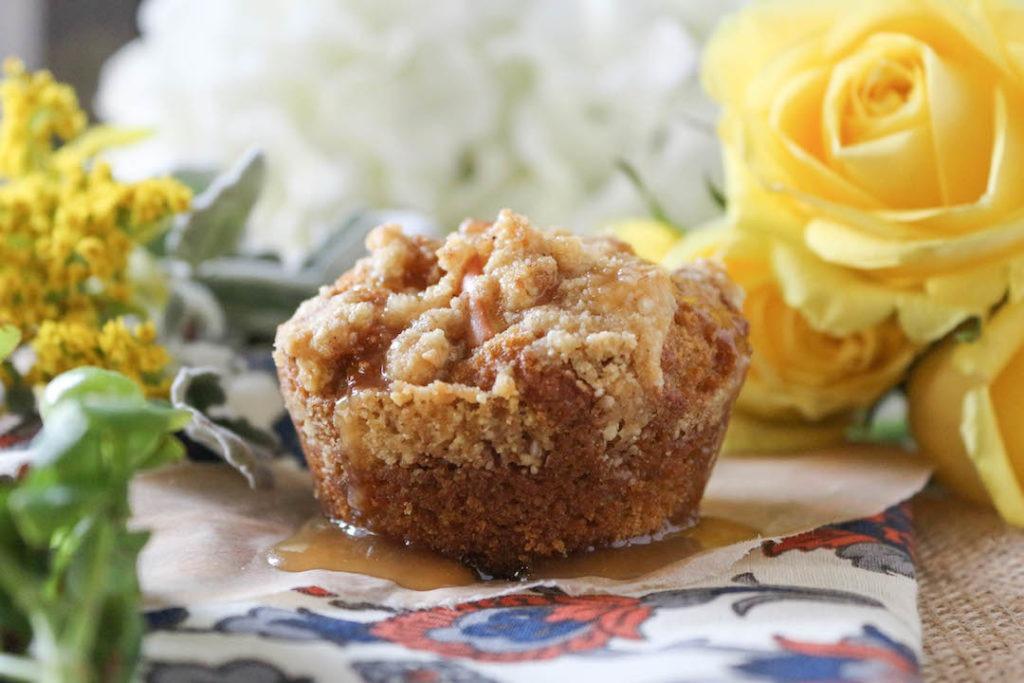 PaleOMG Pumpkin Apple Streusel Muffins