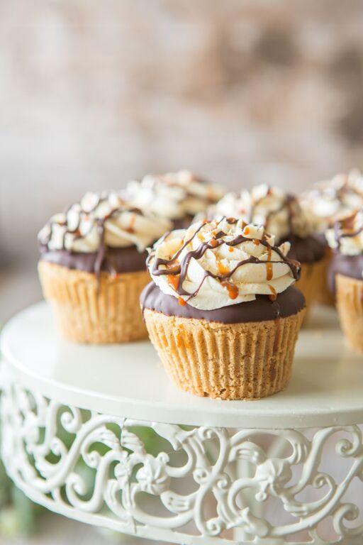 Juli Bauer's Paleo Cookbook Samoa Cupcakes