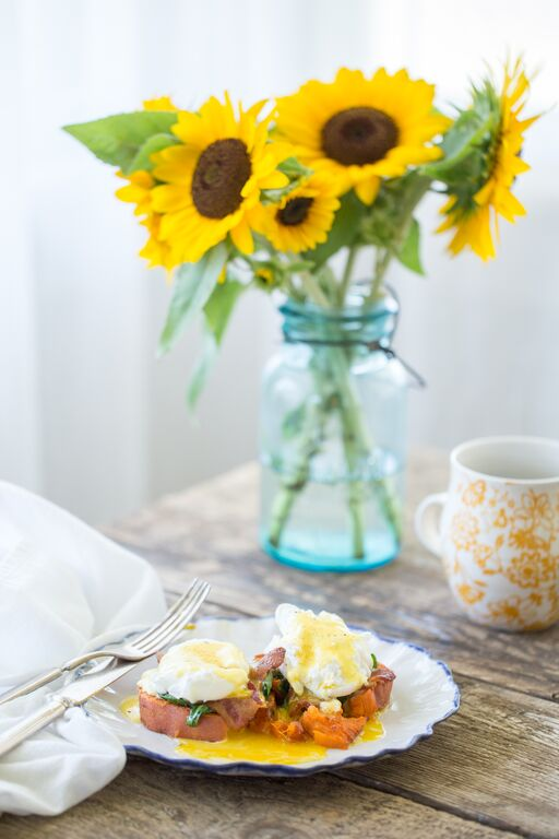 Guest Post: Chipotle Smashed Eggs Benedict