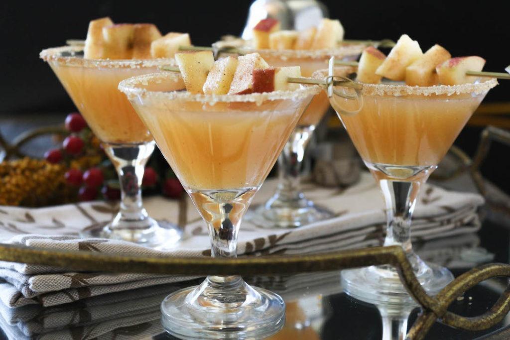 PaleOMG Caramel Apple Cider Sparkling Cocktails