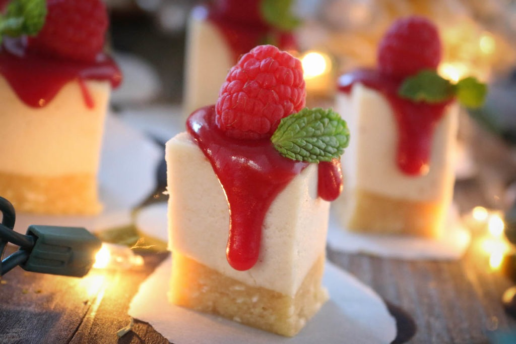 PaleOMG Raspberry Cheesecake Bites