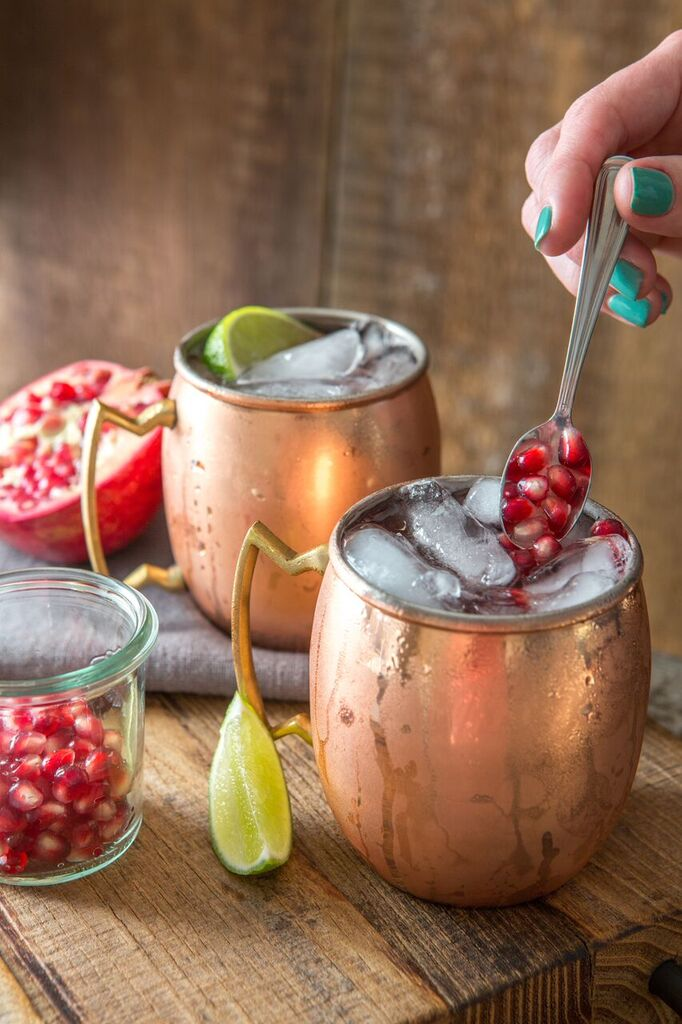 Pomegranate Moscow Mule