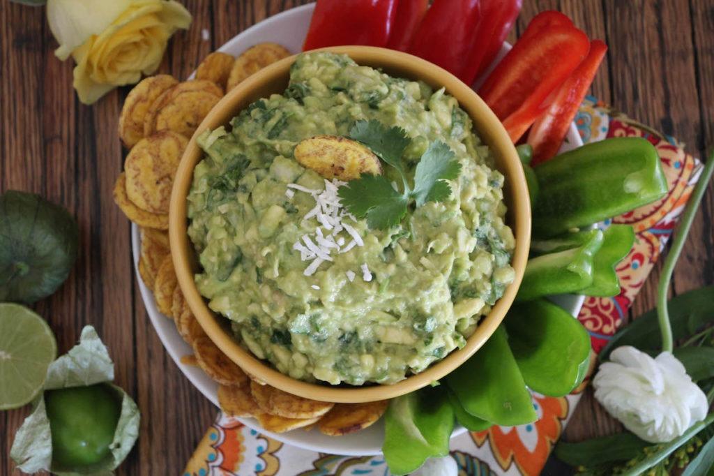 PaleOMG Tomatillo Coconut Guacamole