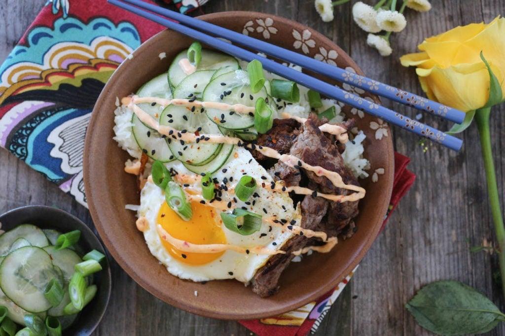 PaleOMG Beef Bulgogi Rice Bowls