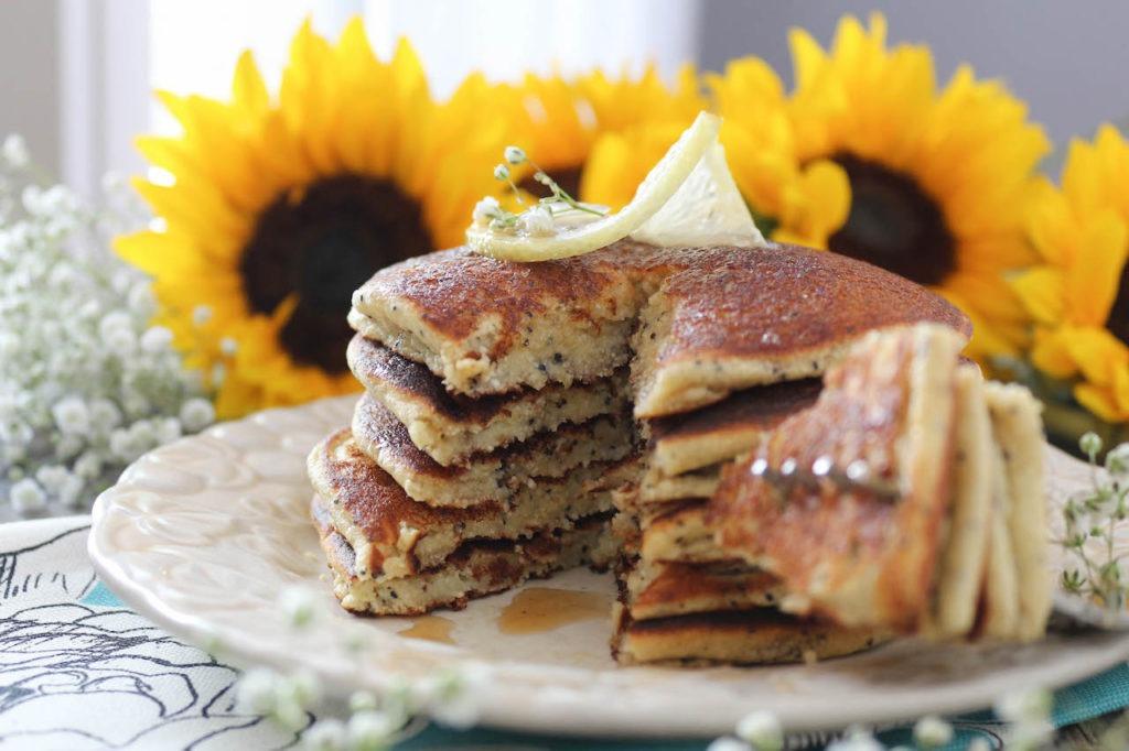 PaleOMG Lemon Poppyseed Pancakes