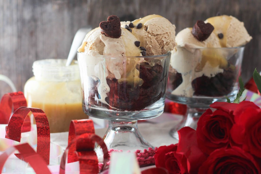 PaleOMG Brownie Mocha Sundaes