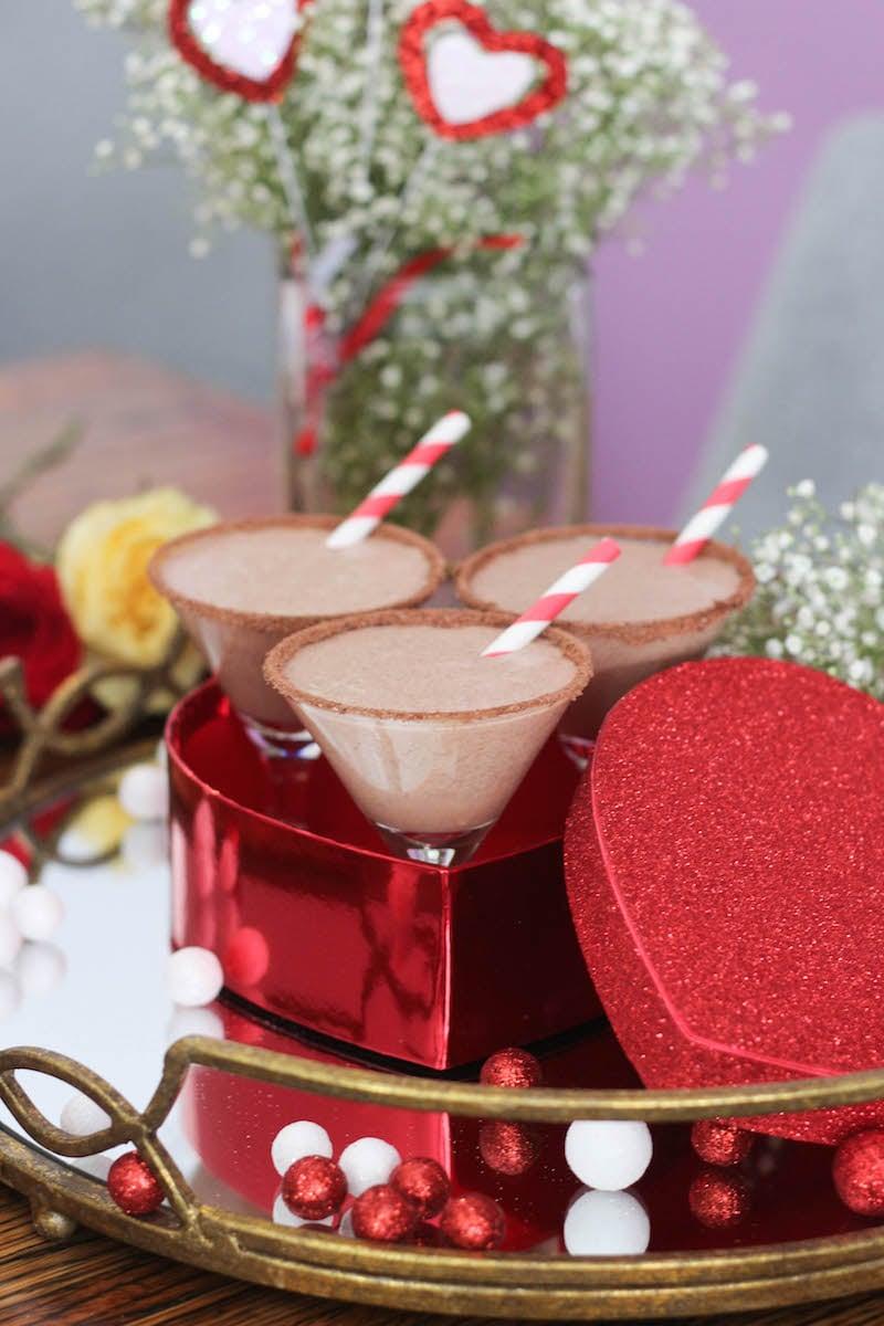 PaleOMG Chocolate Hazelnut Milkshake Martinis