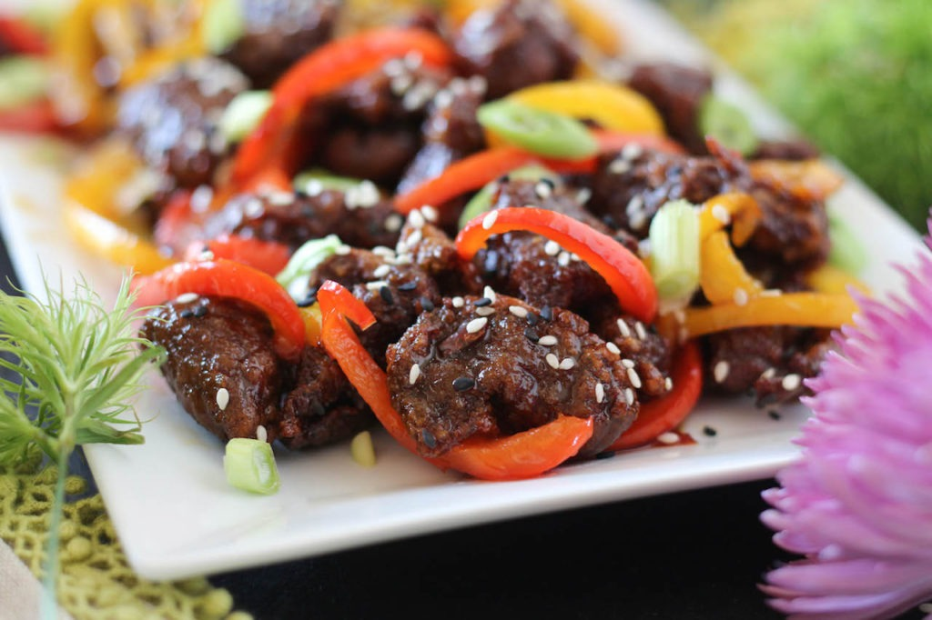 PaleOMG Crispy Orange Beef