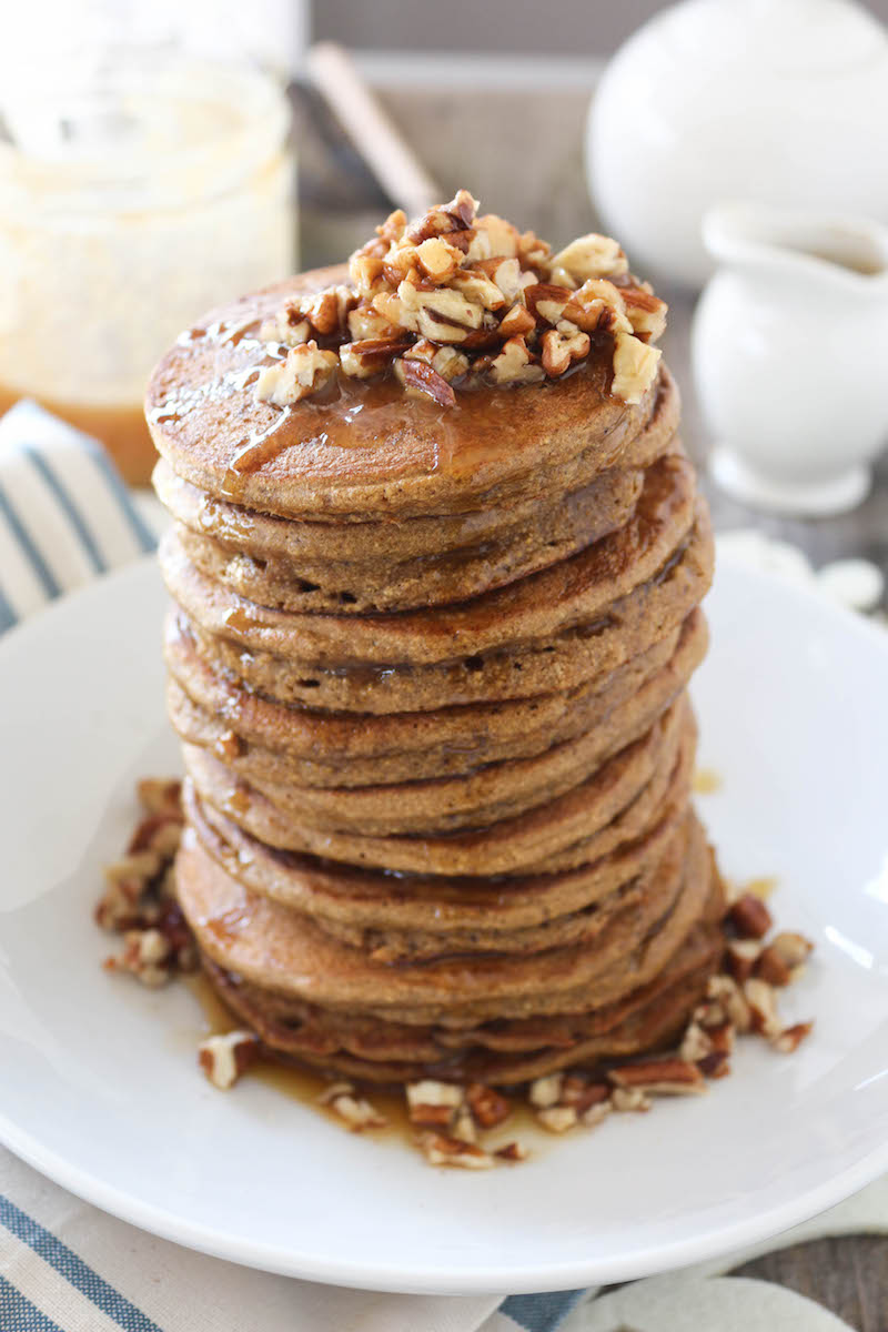 PaleOMG Dirty Chai Fluffy Pancakes