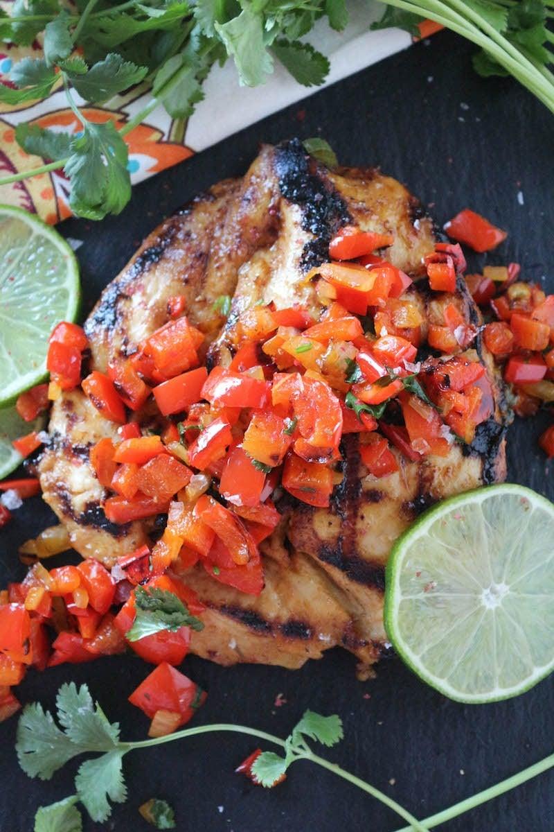 PaleOMG Tequila Cilantro Lime Chicken