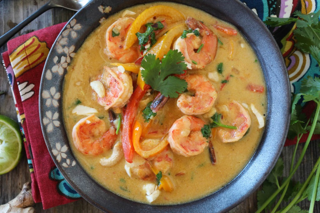 PaleOMG Shrimp Thai Green Curry