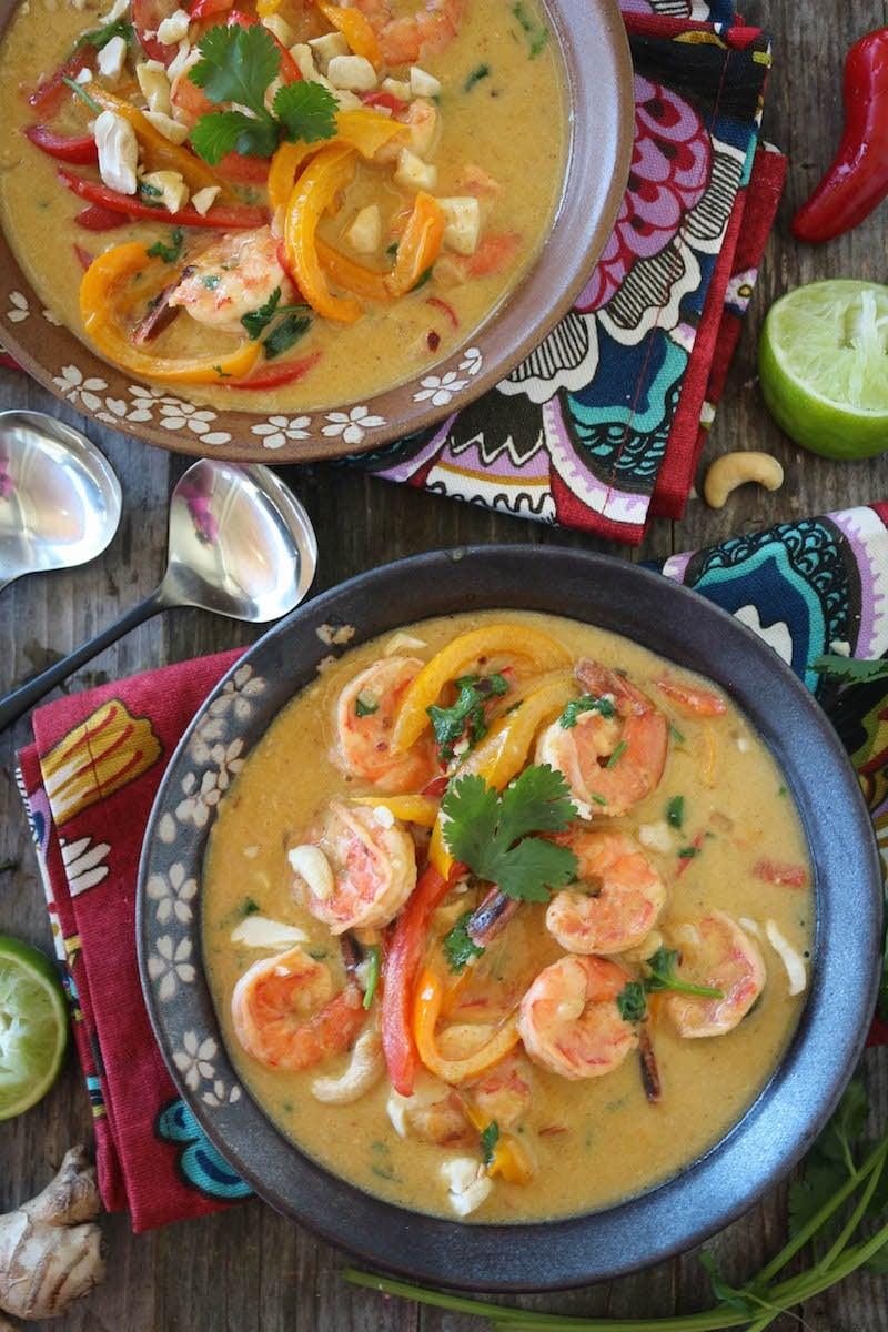 PaleOMG Shrimp Green Curry