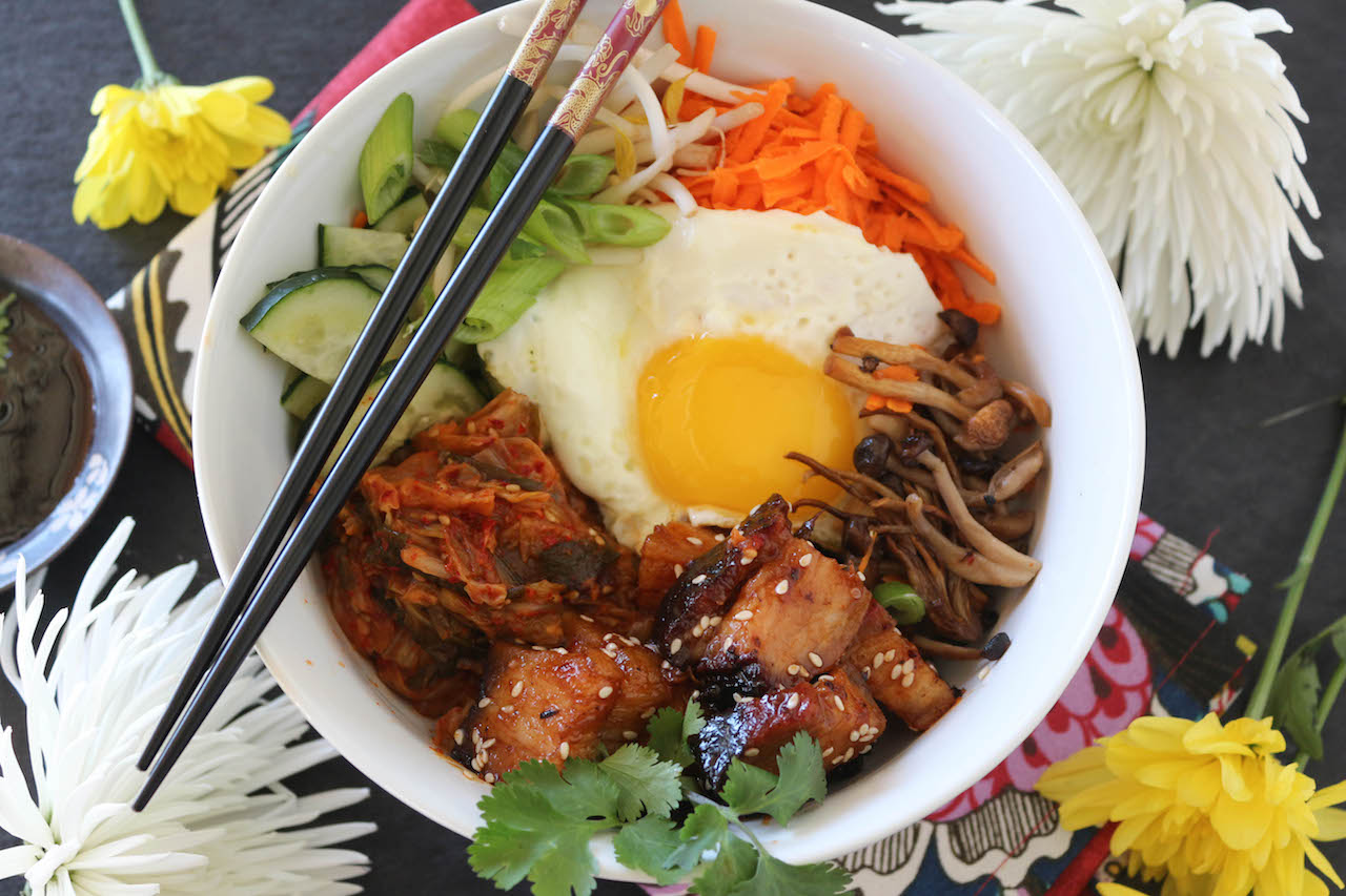 Pork Belly Bibimbap Paleomg