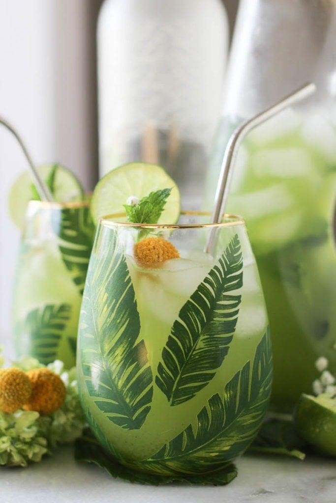 PaleOMG Mint Limeade Cooler