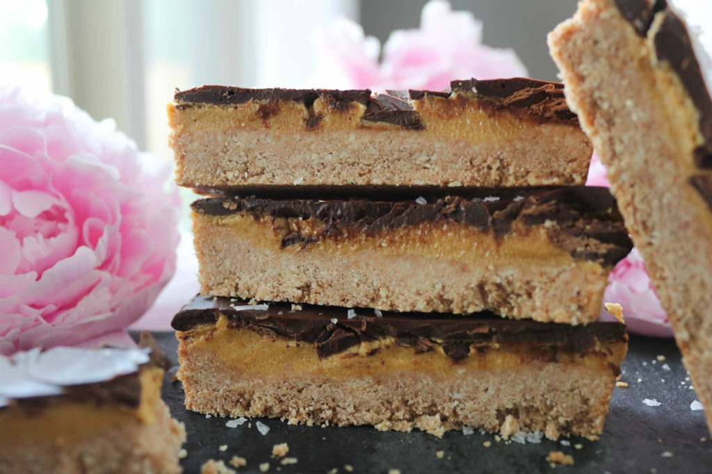 PaleOMG Chocolate Peanut Butter Cookie Bars