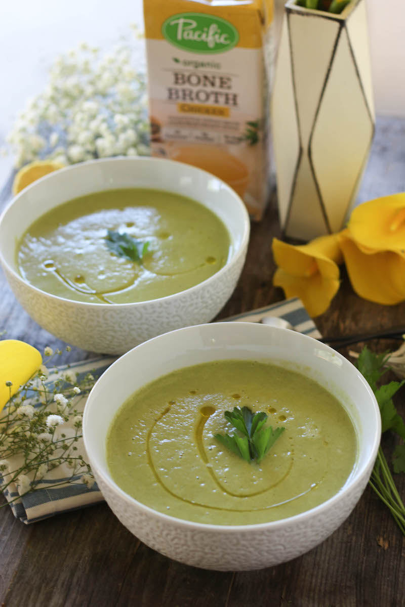 PaleOMG Simple Summer Squash Soup