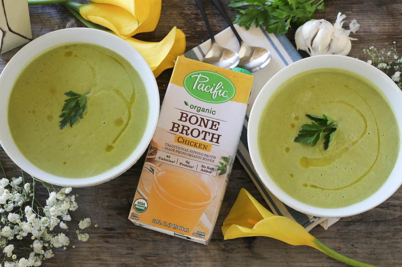 PaleOMG Simple Summer Squash Soup