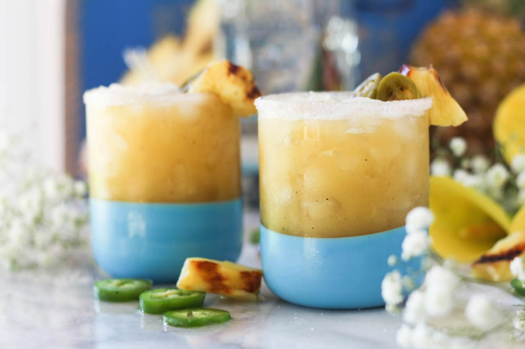PaleOMG Grilled Pineapple Margaritas
