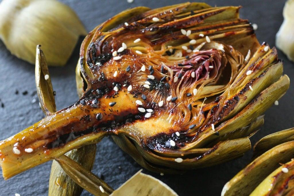 PaleOMG Asian Grilled Artichokes