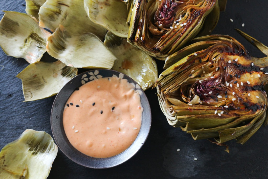 PaleOMG Asian Grilled Artichokes