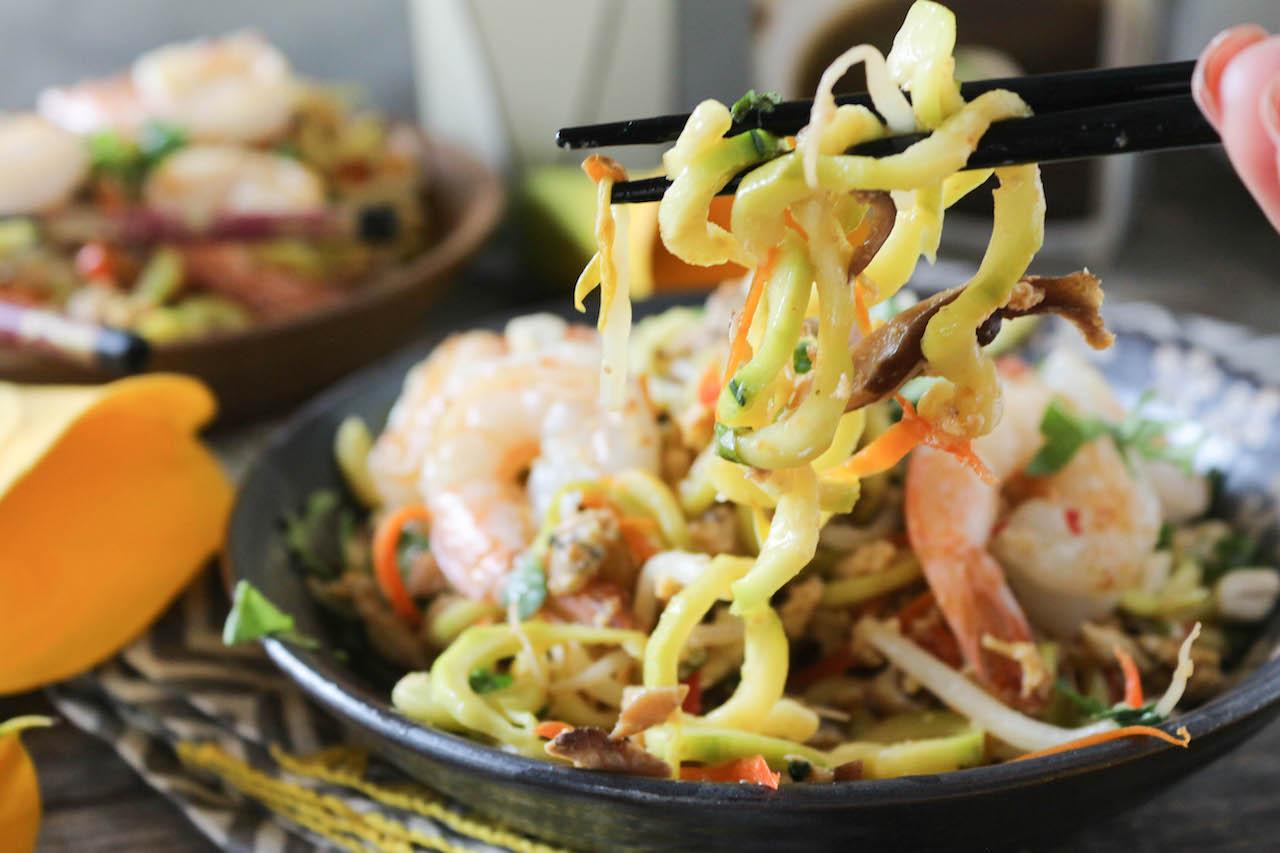 PaleOMG Shrimp & Zucchini Pad Thai