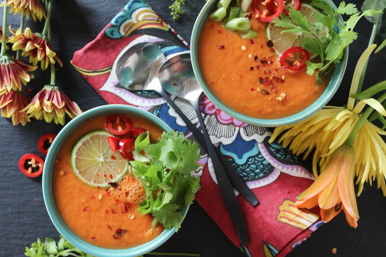 PaleOMG Thai Carrot & Cucumber Gazpacho